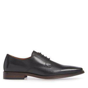 NORDSTROM Men's Vincent Plain Toe Derby Black